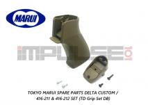 Tokyo Marui Spare Parts HK416 DELTA CUSTOM / 416-211 & 416-212 SET (TD Grip Set DB)