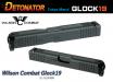 DETONATOR - Wilson Combat G19 Custom Slide For Tokyo Marui Glock19 GBB