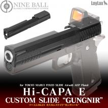 LAYLAX/NINE BALL - Custom Slide GUNGNIR for Tokyo Marui HiCapa E AEP Electric Handgun