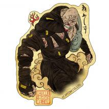 CAPCOM Bio Hazard RE - Sticker NEMESIS Japanese Style