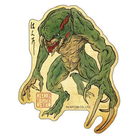 CAPCOM Bio Hazard RE - Sticker HUNTER Japanese Style