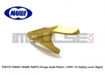 Tokyo Marui Spare Parts Hicapa Gold Match / HMC-14 (Safety Lever Right)