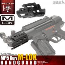 LAYLAX / Nitro.Vo - Tokyo Marui MP5K Kurtz MLOK Rail Hand Guard