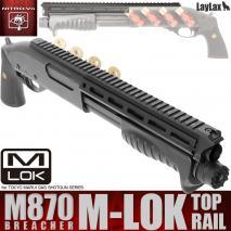 LAYLAX / Nitro.Vo - M870 Breacher Top Rail M-LOK