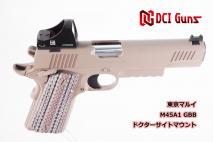 DCI GUNS - Docter Dot Sight & TM Micro Pro Sight Mount V2.0 for Tokyo Marui M45A1 (GBB)