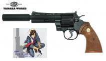 "TANAKA WORKS - City Hunter Official Collaboration Colt Python ""Ryo Saeba""model (Gas Revolver)"