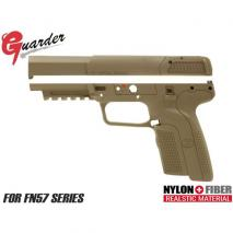 Guarder - TM FN5-7 Polycarbonate Custom Slide & Frame TAN