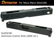 DETONATOR - Glock18C Custom Slide (2020 Version) Black For Tokyo Marui Glock Series