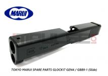 Tokyo Marui Spare Parts GLOCK17 GEN4 / GBB9-1 (Slide)