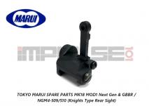 Tokyo Marui Spare Parts MK18 MOD1 Next Gen & GBBR / NGM4-509/510 (Knights Type Rear Sight)