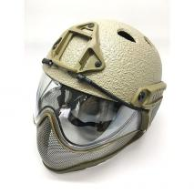 WARQ - Full Head Protection Airsoft Helmet System RAPTOR Ver.