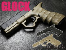 LAYLAX/NINE BALL - G18C Custom Grip BLACK