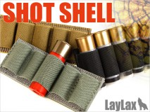 LAYLAX/SATELLITE - Shotgun Shell Holder (1 piece for 5 shells) BLACK