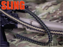 LAYLAX/SATELLITE - Paracord Sling OD