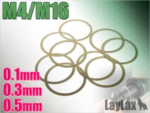 LAYLAX/FIRST FACTORY - M4 Series/Outer Barrel Adjust Shim Ring 0.1mm