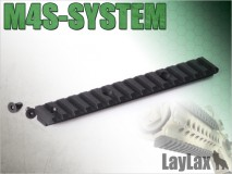 LAYLAX/FIRST FACTORY - M4S-SYSTEM Bottom Long Rail