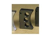 TANIO KOBA - Custom Trigger (3 Holes) / Silver for Tokyo Marui HiCapa/M1911 Black