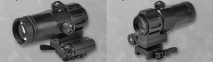 NOVEL ARMS - 3X TACTICAL Magnifier Professional Model (dot sight)