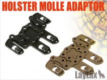 LAYLAX/SATELLITE - Holster Molle Adaptor - Black