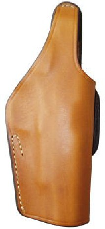 EAST-A - LEATHER SILHOUETTE HOLSTER / THUMB BREAK CROSS TYPE/ CC BROWN -