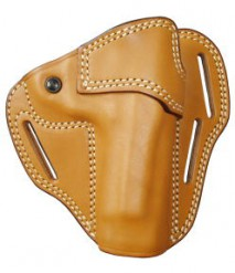 EAST-A - LEATHER SILHOUETTE HOLSTER / CROSS TYPE/ M92F BROWN -