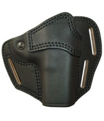 EAST-A - LEATHER SILHOUETTE HOLSTER / CROSS TYPE/ GLOCK BLACK -