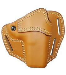 EAST-A - LEATHER SILHOUETTE HOLSTER / CROSS TYPE/ GLOCK BROWN -