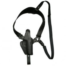 EAST-A - LEATHER SILHOUETTE HOLSTER / SHOULDER HOLSTER/ THUMB BREAK ONE SIDE SHOULDER/ SIGP230 BLACK -