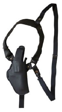 EAST-A - LEATHER SILHOUETTE HOLSTER / SHOULDER HOLSTER/ THUMB BREAK ONE SIDE SHOULDER/ Chief 2~3 inchN Frame, K frame BLACK - d