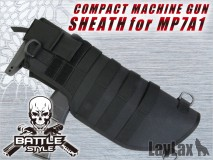 Laylax/Battle Style - Compact Machinegun Sheath Middle for MP7A1 (TAN)