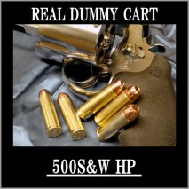 RIGHT - Real Dummy Cart 500 S&W (JHP) / 5 carts set