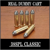 RIGHT - Real Dummy Cart 38SPL Classic (Lead Bullet) / 8 carts set