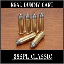 RIGHT - Real Dummy Cart 38SPL Classic (Lead Bullet) / 8 carts set