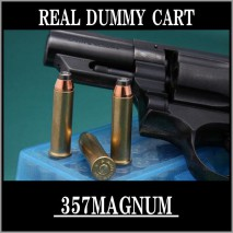 RIGHT - Real Dummy Cart 357 Remington Magnum / 6 carts set