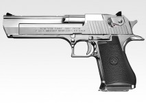 DESERT EAGLE .50AE CHROME STAINLESS