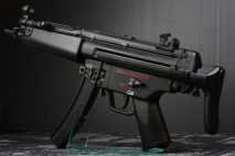 Escort - MP5A5 ASCS - GAS/AIR BLOWBACK with hard recoil bolt carrier