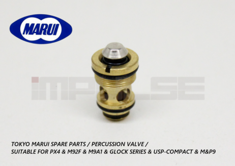 Tokyo Marui Spare Parts / Percussion Valve / Suitable For PX4 & M92F & M9A1 & Glock Series & USP-Compact & M&P9 & MP7A1