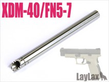 LAYLAX/NINE BALL - Tokyo Marui Gas Blowback Hand Gun Barrel 100.5mm/XDM-40/FN5-7 - 6.03mm