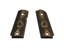 Altamont - Wood Grip DETONICS Checker with Markings Brown available upon order -