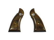 Altamont - Wood Grip M10/19 Square Service Smooth Brown with Medallion available upon order -