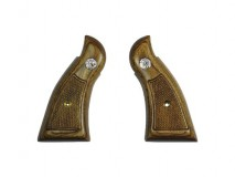 Altamont - Wood Grip M10/19 Square Service Checker Brown with Medallion available upon order -