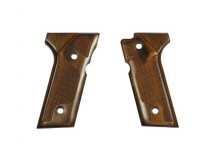 Altamont - Wood Grip M92 Vertec Checker /Brown available upon order -