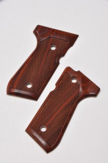 CAROM SHOT - Beretta Rosewood Grip for TM M9 Rail