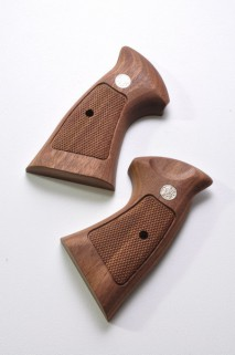 CAROM SHOT - S&W N Frame Walnut Over Square Grip for Tanaka M29