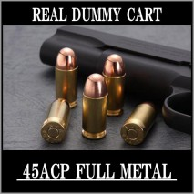 RIGHT - Real Dummy Cart .45 ACP R-H Markings 8 carts set