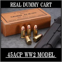RIGHT - Real Dummy Cart .45 ACP WW2 Model (Classic) 8 carts set