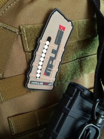 "IMPULSE101 - Official PVC ""PMAG Patch"" / TAN"
