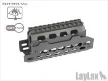 LAYLAX / Nitro.Vo - Next Gen AKS74U Keymod Rail Hand Guard