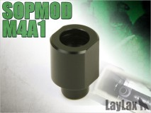 LAYLAX/FIRST FACTORY - Tokyo Marui Next Gen M4 & SCAR-L Series magazine adaptor for standard AEG magazine