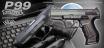 Maruzen P99 GBB with official licence from Walther